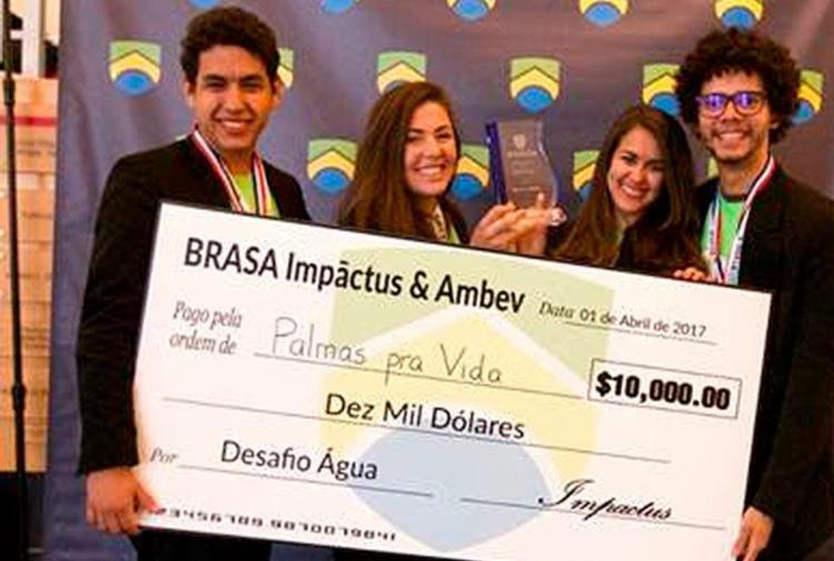 Os estudantes ganharam US$ 10 mil para desenvolverem a ideia - Foto: Divulgação
