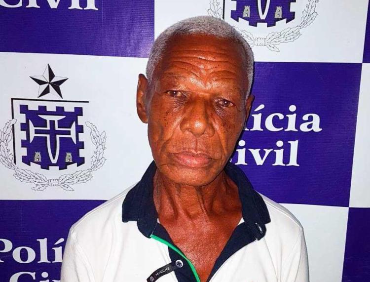 Olavo, de 72 anos, faz parte de uma quadrilha de estelionatários - Foto: Divulgação | Polícia Civil
