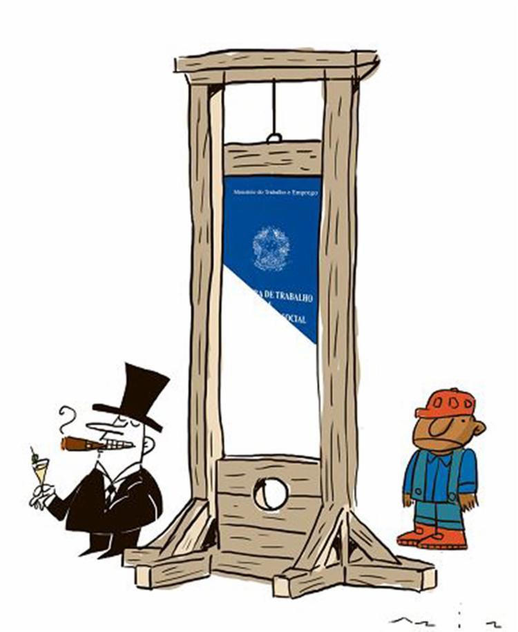 A reforma trabalhista flexibiliza a Consolidação das Leis do Trabalho e coloca mais uma vez empregados e empregadores em lados opostos - Foto: Bruno Aziz l Editoria de Arte A TARDE