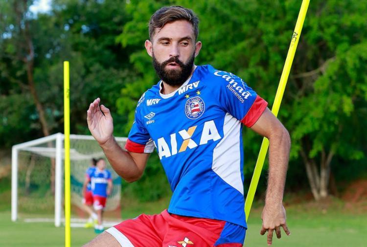 Allione marcou apenas dois nesta temporada - Foto: Felipe Oliveira l EC Bahia