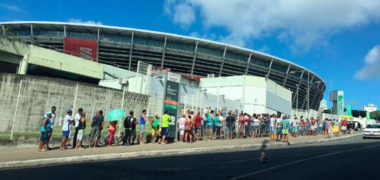 Já foram mais de 20 mil ingressos vendidos - Foto: Reprodução | E.C Bahia