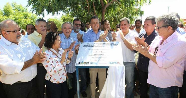 Foram quatro povoados beneficiados com o sistema de água - Foto: Pedro Moraes   GOV-BA