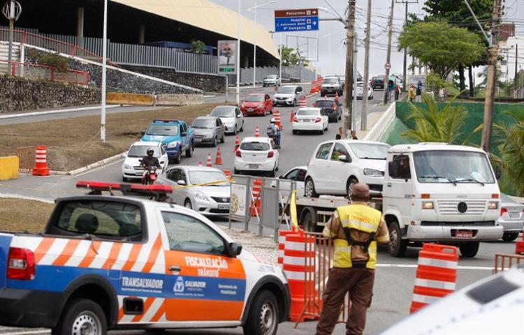 Transalvador fará mudanças no trânsito em alguns pontos da cidade - Foto: Joá Souza | Ag. A TARDE