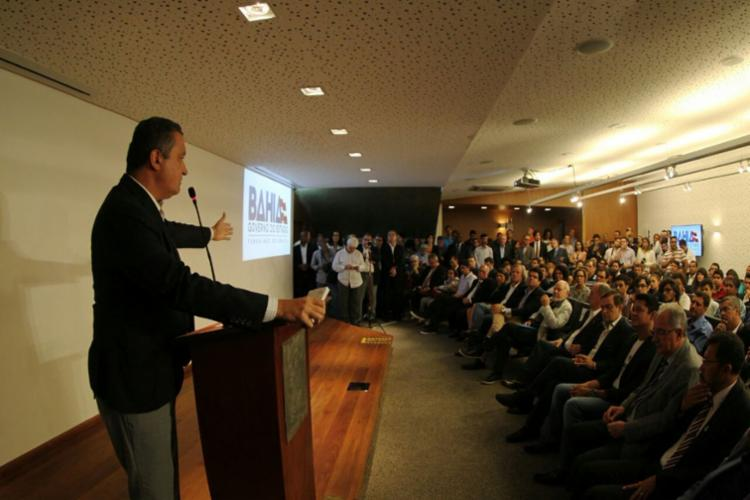 A confirmação do evento foi feita pelo governador nesta segunda - Foto: Reprodução | Twitter