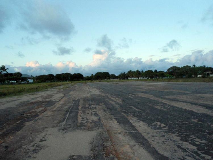 Aeródromo de Belmonte está interditado - Foto: Ascom Seinfra | Divulgação