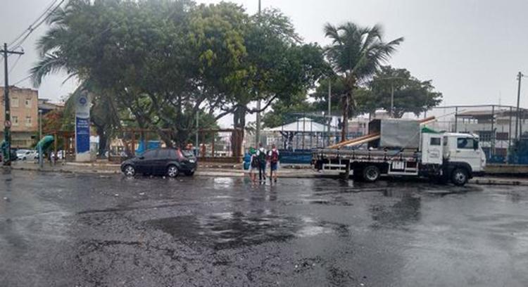 Ataque no Largo do Garcia aconteceu quando viatura da PM saiu para atender ocorrência - Foto: Euzeni Daltro l Ag. A TARDE