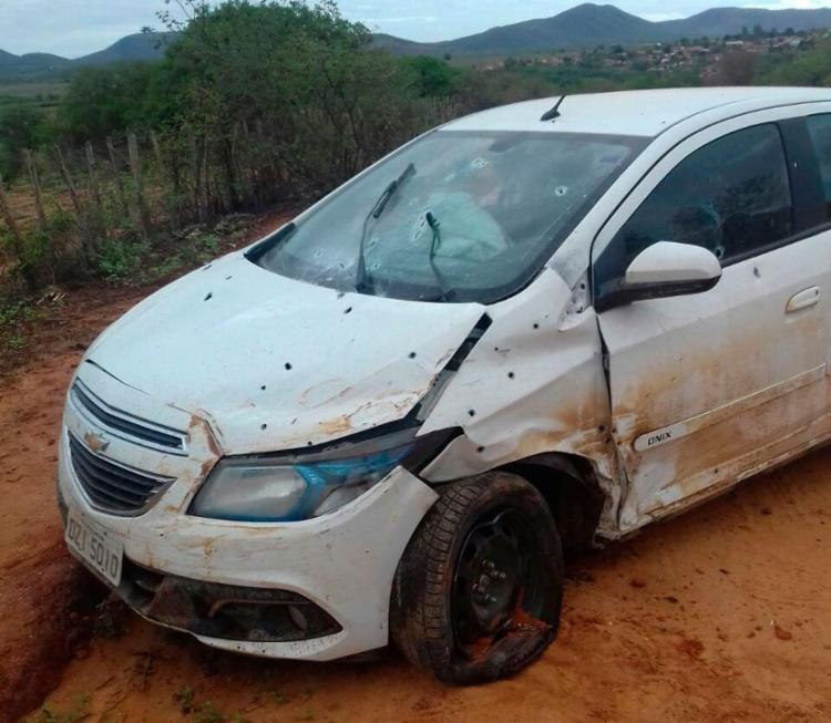 Bandidos trocaram carro após confronto com a polícia - Foto: Divulgação | SSP
