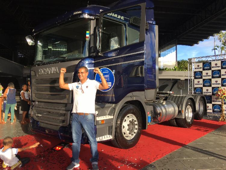 Prêmio melhor caminhoneiro da America Latina - Foto: Lhays Feliciano