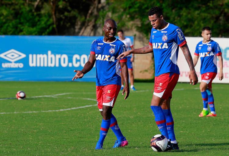 Após retornar da seleção colombiana, Armero se diz empolgado por voltar a jogar pelo Bahia - Foto: Felipe Oliveira l EC Bahia