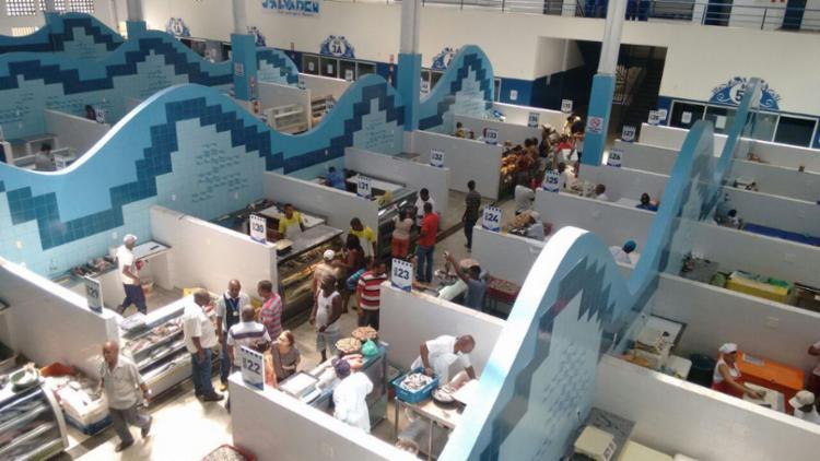 Mercado do Peixe de Água de Meninos será reaberto após quase dois anos - Foto: Luciano da Matta | Ag. A TARDE