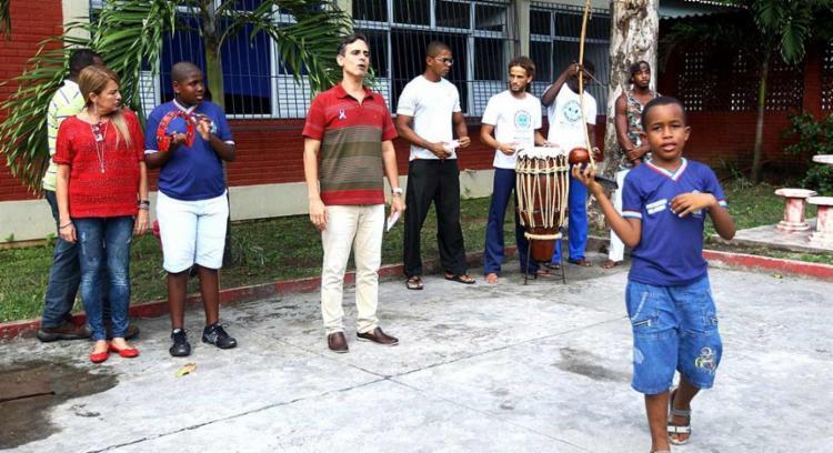 Atividades como a roda de capoeira estão entre as atividades - Foto: Amanda Oliveira | GOV-BA