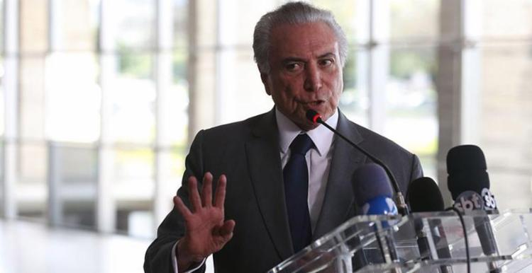 Advogados de Temer pediram que sejam anulados os depoimentos de delatores da Odebrecht - Foto: Valter Campanato l Agência Brasil