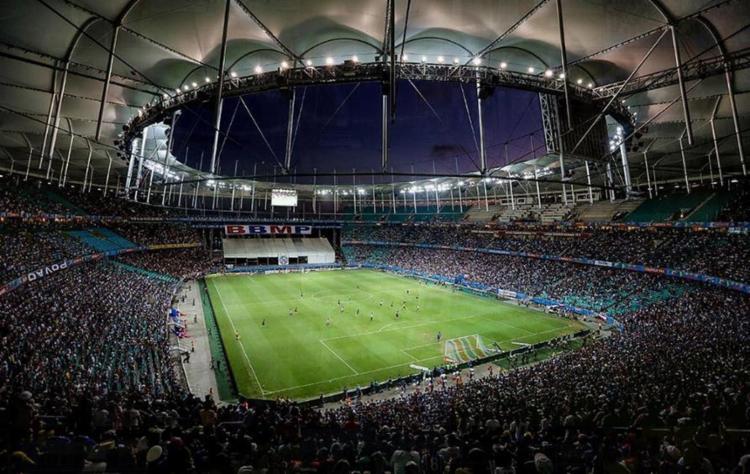 O primeiro Ba-Vi do ano será realizado neste domingo, 9, na Arena Fonte Nova - Foto: Divulgação l Itaipava Arena Fonte Nova