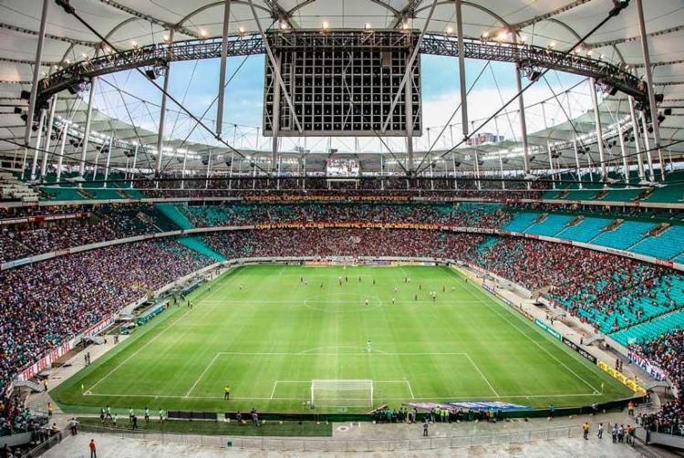 Clássico de domingo será disputado na Arena Fonte Nova - Foto: Ulisses Dumas | Arena Fonte Nova
