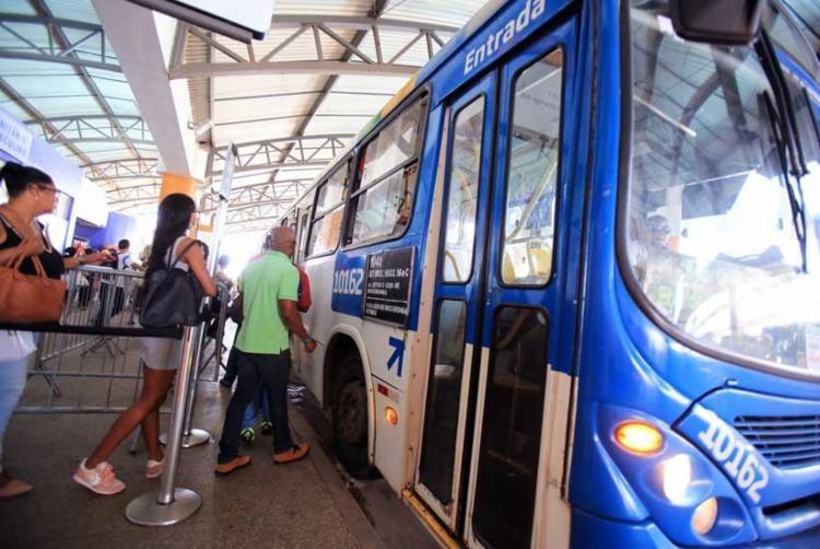 Serão disponibilizados 12 ônibus extras da frota reguladora para facilitar o retorno dos torcedores - Foto: Joá Souza | Ag. A TARDE
