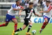Bahia perde para o Vasco em São Januário e deixa a liderança | Foto: