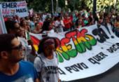 Manifestantes em Salvador pedem a saída de Michel Temer | Foto: