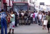 Briga entre PM e motorista de ônibus trava trânsito em Itapuã | Foto: