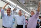 Rui vai trabalhar de metrô para conferir novas estações da Linha 2 | Foto: