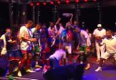 Jogadores do Bahia fazem festa após o título; assista a vídeo | Foto:
