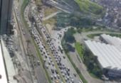 Após acidente, trânsito começa a normalizar na Paralela e na Tancredo Neves | Foto: