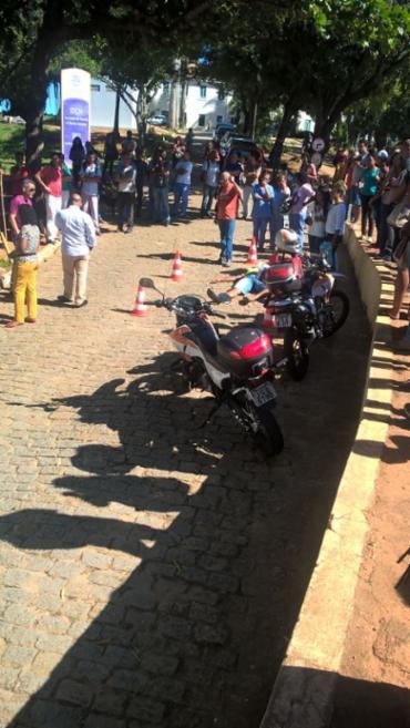 As aulas no campus foram suspensas na tarde desta quinta-feira - Foto: Jorge Vox | Divulgação
