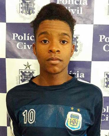 O rapaz teve ajuda de estudantes do próprio colégio - Foto: Divulgação | SSP