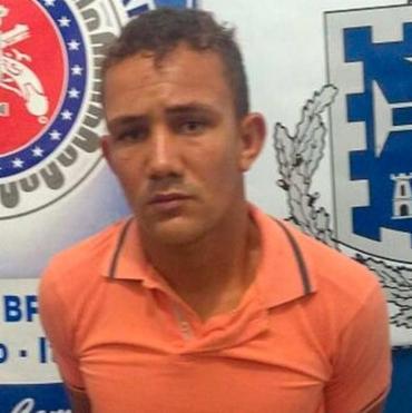 Naílson foi autuado em flagrante por crimes de roubo duplamente qualificado e corrupção de menor - Foto: Divulgação   SSP