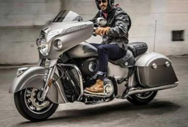 Indian Roadmaster e Chieftain 2017 tem central multimídia sensível ao toque