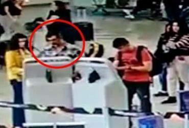 Polícia prende suspeito de furtar bagagem do ator Marcos Pasquim