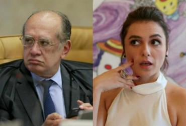 Monica Iozzi terá que pagar R$ 30 mil para ministro Gilmar Mendes