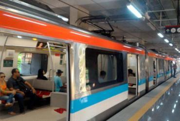 Estações do metrô entre Pernambués e Pituaçu são inauguradas