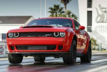 Dodge inicia vendas do SRT Demon com 840 cv nos EUA