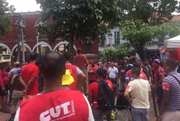 Vigilantes protestam por campanha salarial em Salvador