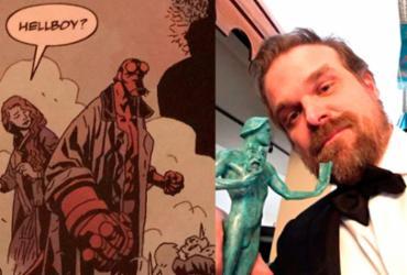 Novo 'Hellboy' está sendo gravado sem Guillermo Del Toro como diretor