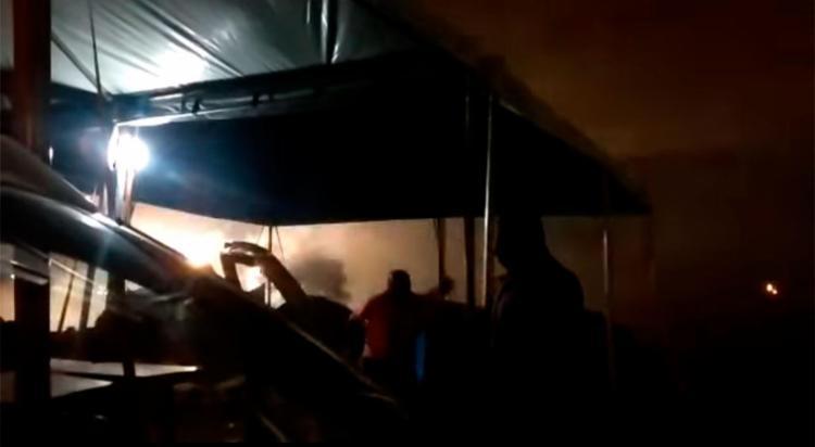 Vítimas estavam em barraco de lona que pegou fogo - Foto: Reprodução | YouTube