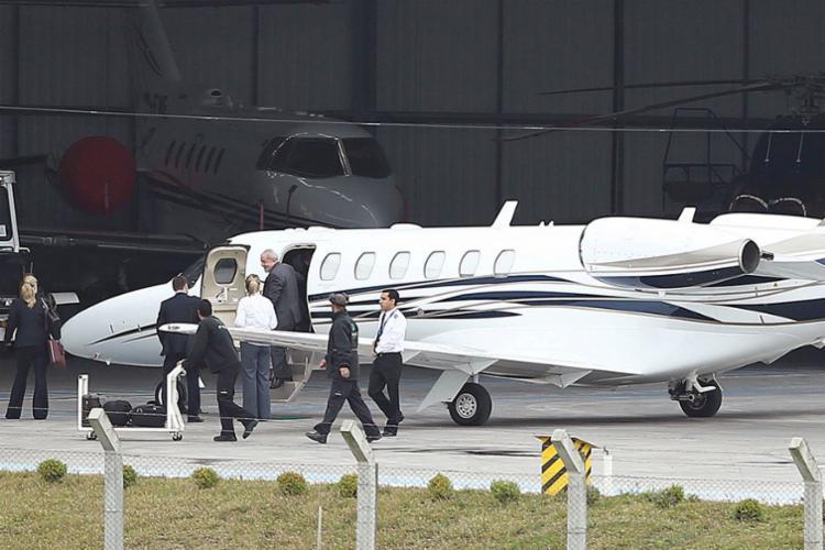 Mares Guia confirmou o empréstimo da aeronave ao ex-presidente - Foto: Heuler Andrey | AFP