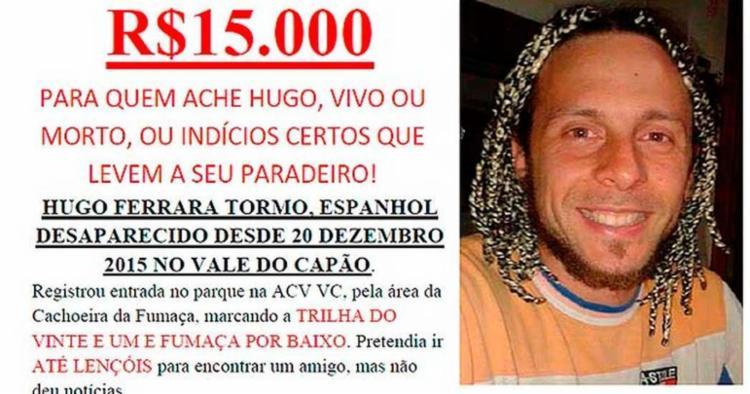 Família ofereceu recompensa para quem o achasse ou informasse o seu paradeiro - Foto: Divulgação
