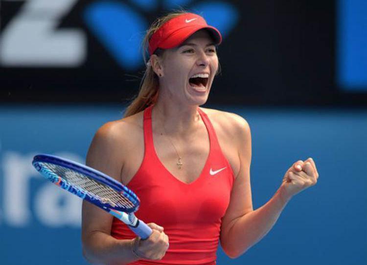 Afastada por suspensão, Maria Sharapova voltou a somar pontos com sua boa campanha no Torneio de Stuttgart - Foto: AFP | Divulgação