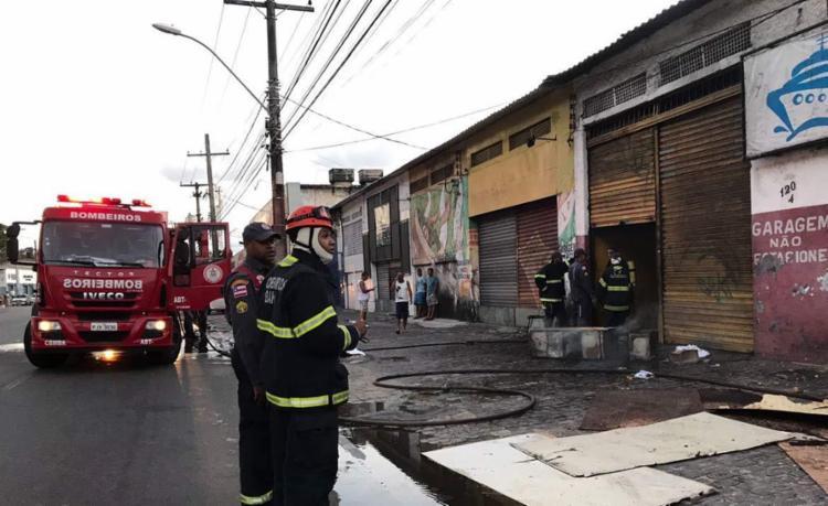 O fogo já foi controlado - Foto: Margarida Neide | Ag. A TARDE