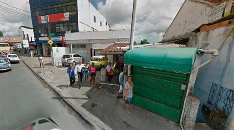 O crime aconteceu na rua Sussunga Velha, no bairro de São Caetano - Foto: Reprodução   Google Maps