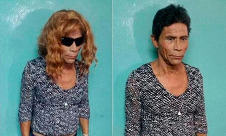 Internautas lembraram da personagem Nazaré Tedesco ao ver foto de preso - Foto: Divulgação