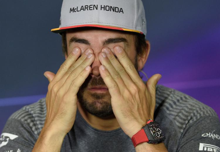 Piloto Fernando Alonso - Foto: Lluis Gene | AFP