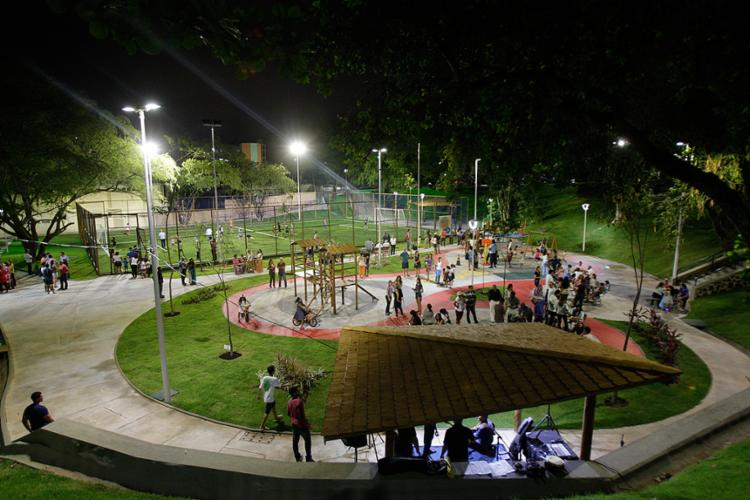 Novo espaço público de lazer no bairro tem 7 mil m² - Foto: Mila Cordeiro l Ag. A TARDE