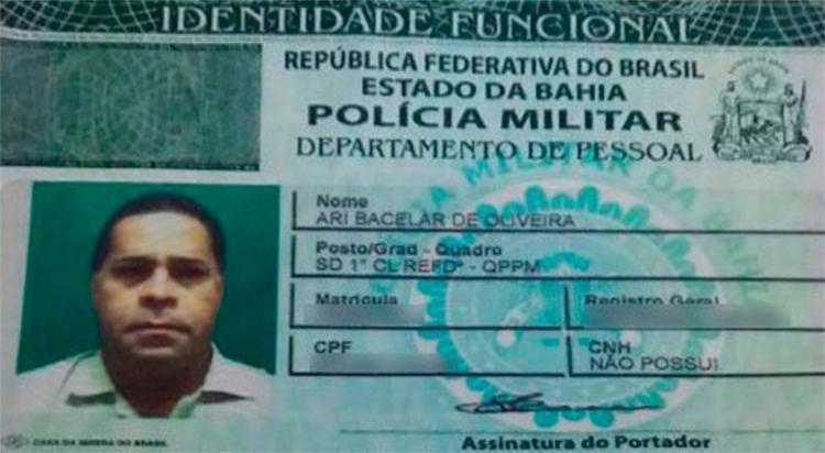 PM foi baleado na rótula do Juliano Moreira - Foto: Reprodução