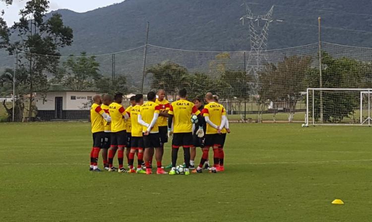 Leão finaliza preparação em Santa Catarina - Foto: Moysés Suzart | EC Vitória | Divulgação