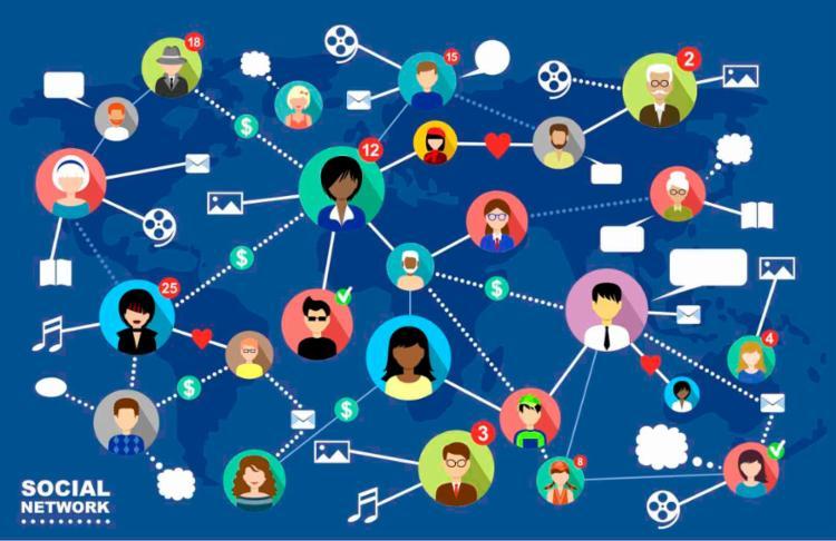 Vivendo em rede - Foto: Reprodução | Consultorio 2.0