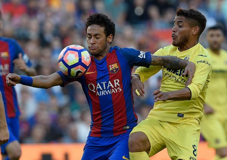 O atacante se prepara para a última partida do Barcelona no Campeonato Espanhol, marcada para este domingo - Foto: Lluis Gene   AFP