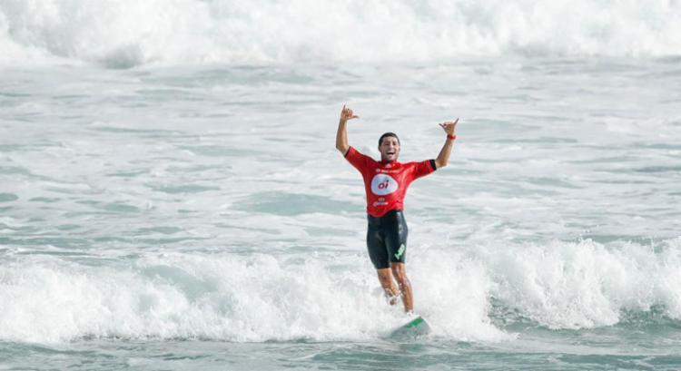 É a sétima vitória do surfista no circuito principal - Foto: Reprodução | WSL
