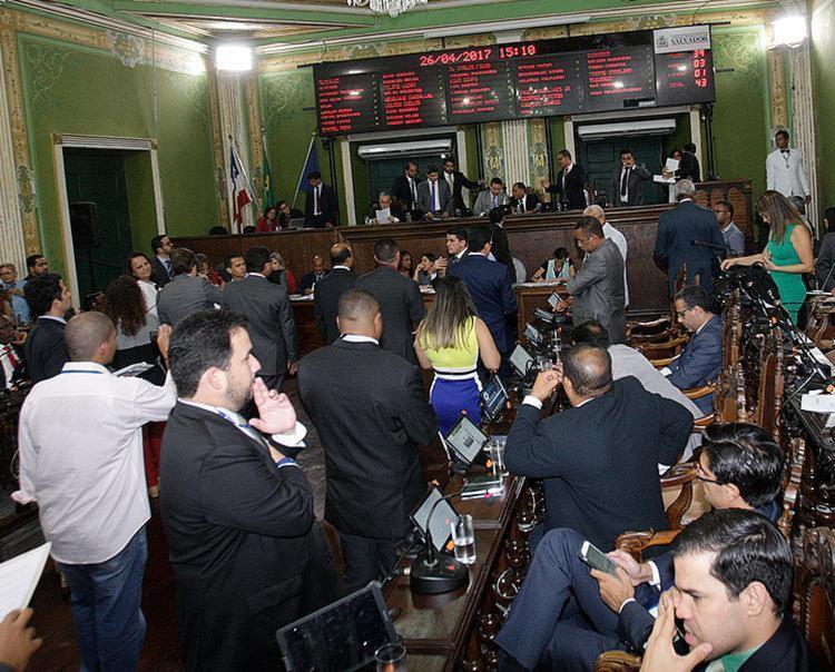 Vereadores têm de votar a Lei de Diretrizes Orçamentárias até dezembro de 2017 - Foto: Margarida Neide l Ag. A TARDE